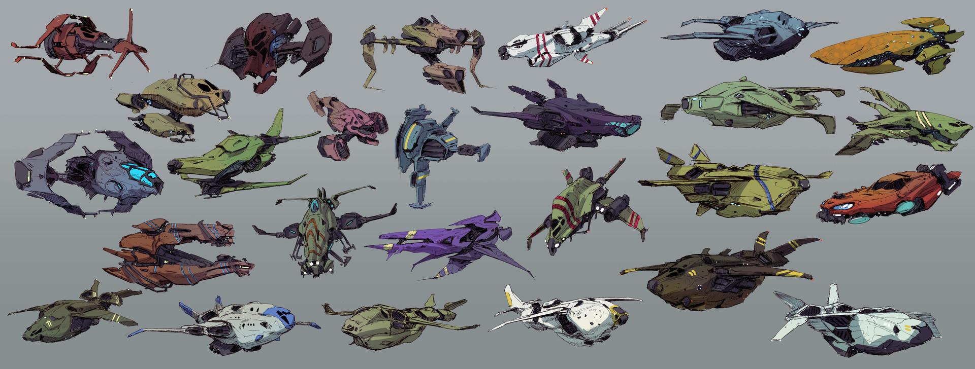 Brad wright spaceship thumbnails 02