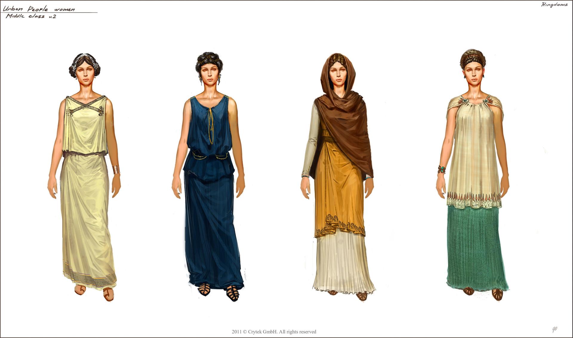 Roman Womens Cloths