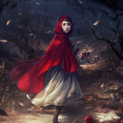 Charlie bowater little red by charlie bowater d9qq7v2
