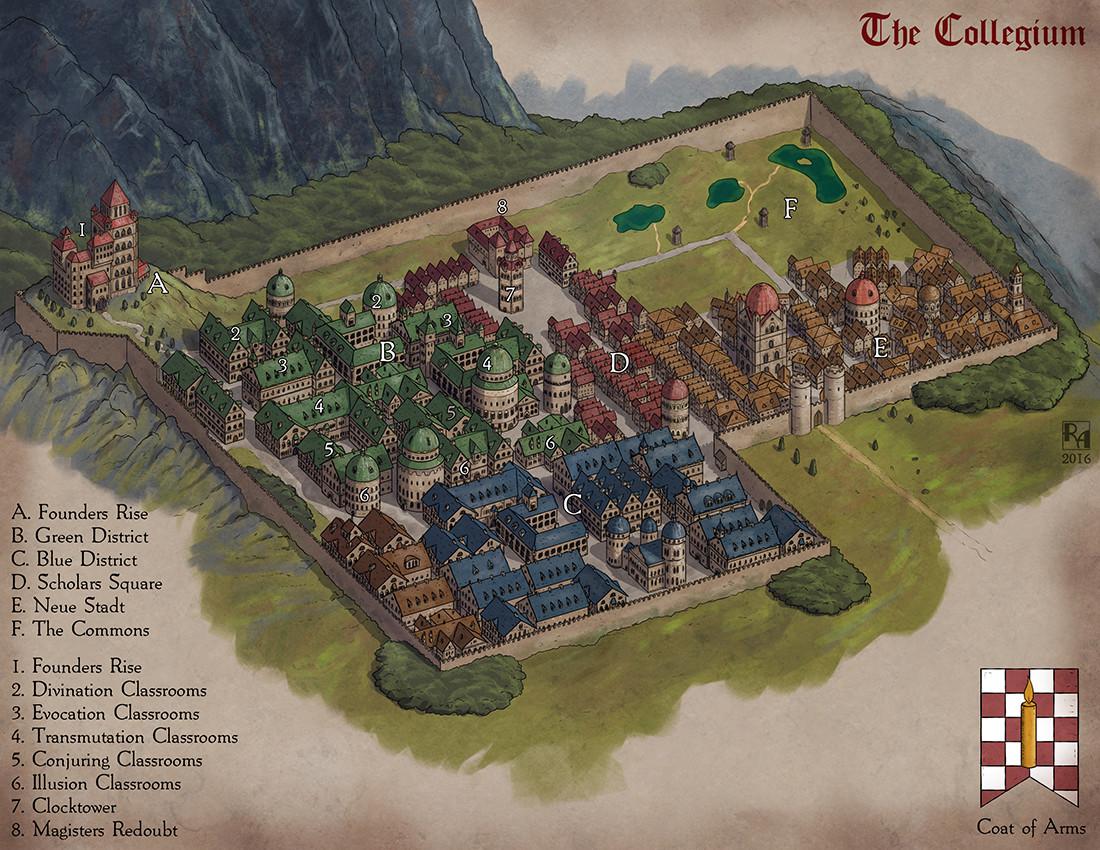 Robert altbauer collegium map s