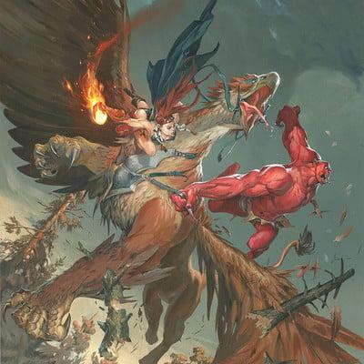 Jesper ejsing griifon vs carnage demon