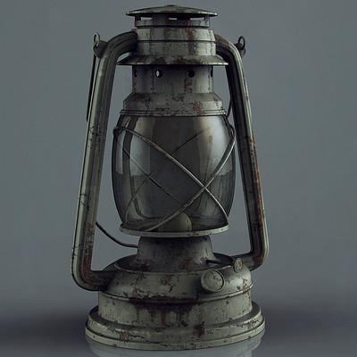 Ste flack oil lamp