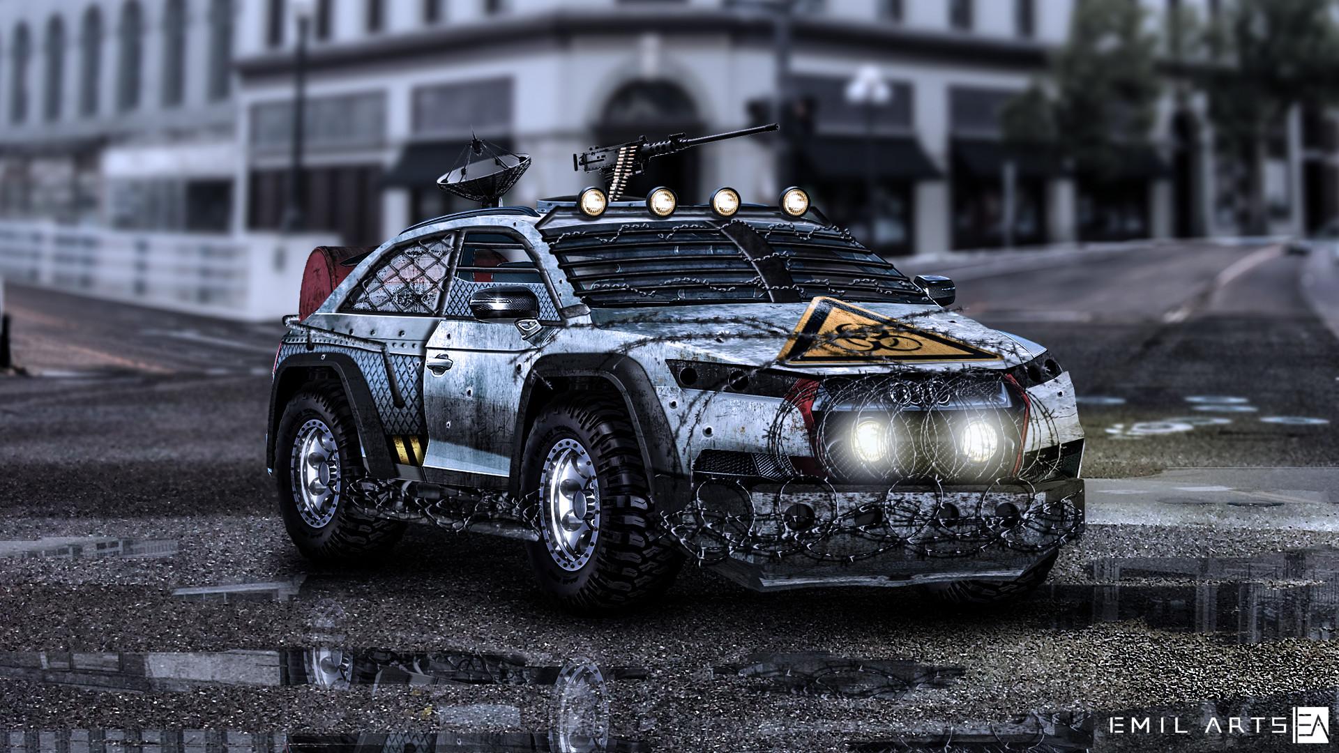 Emil Arts Audi Q7 2015 Zombie Killer
