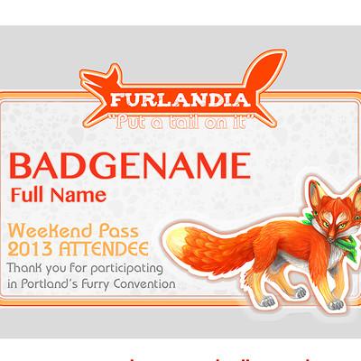 Hazard furlandia badges