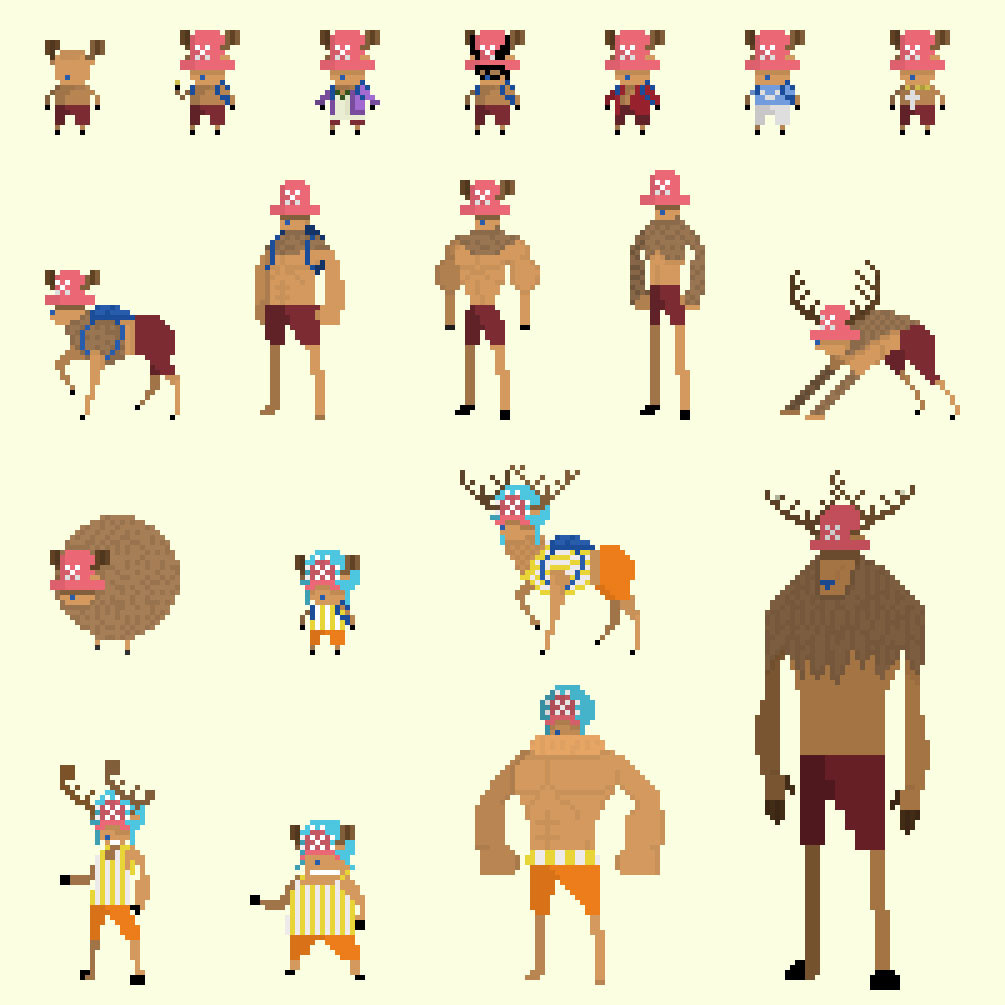Will Ryan One Piece Pixel Outfits