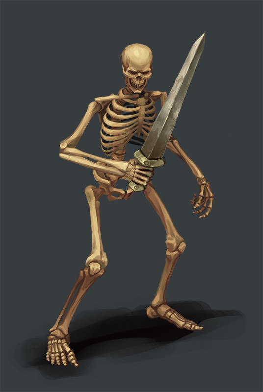 Greeme doe 005 skeletone udress