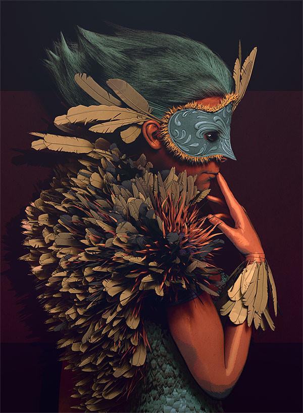 Pablo munoz gomez feathercoat comic