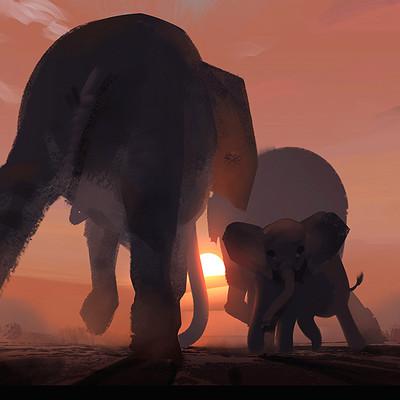Lorenz hideyoshi ruwwe elephant walk