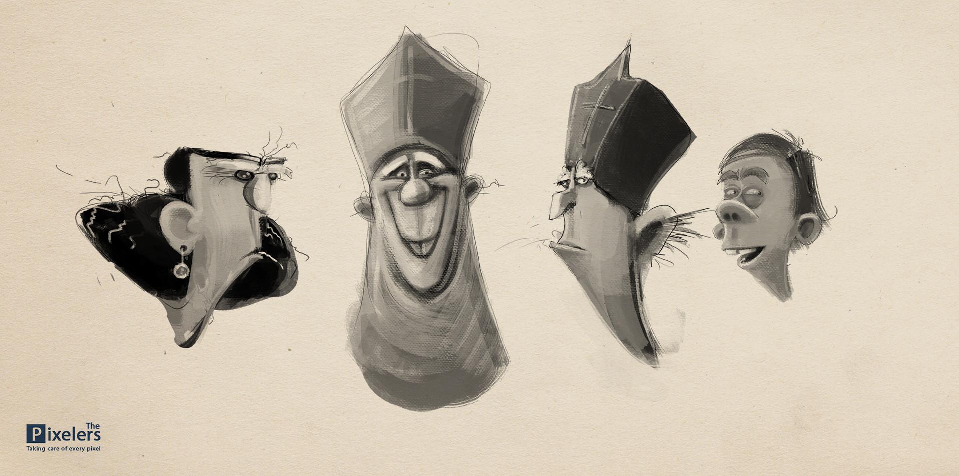 Mayan engelman sketches 01 150115