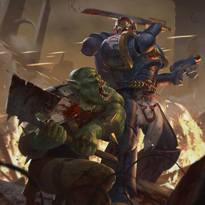 Stephen stark stark steve warhammer logo