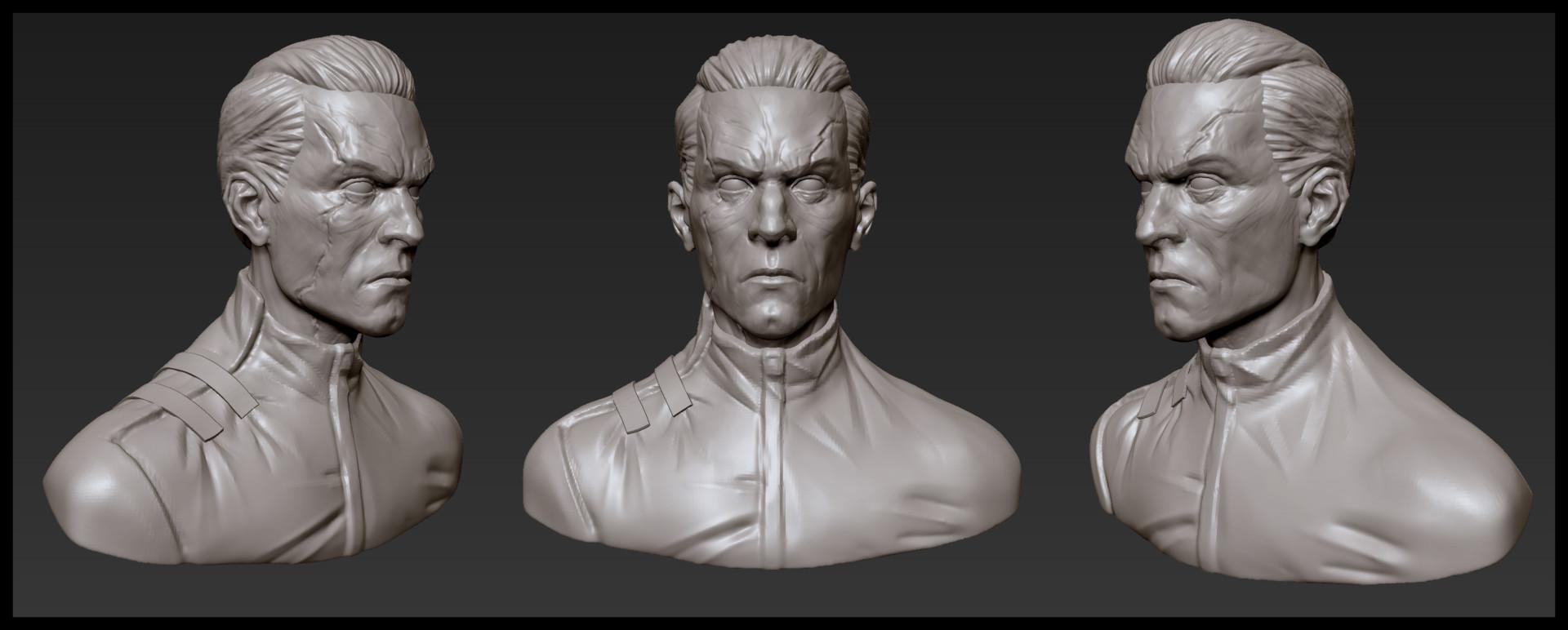 Ben henry assassindaud sculpt