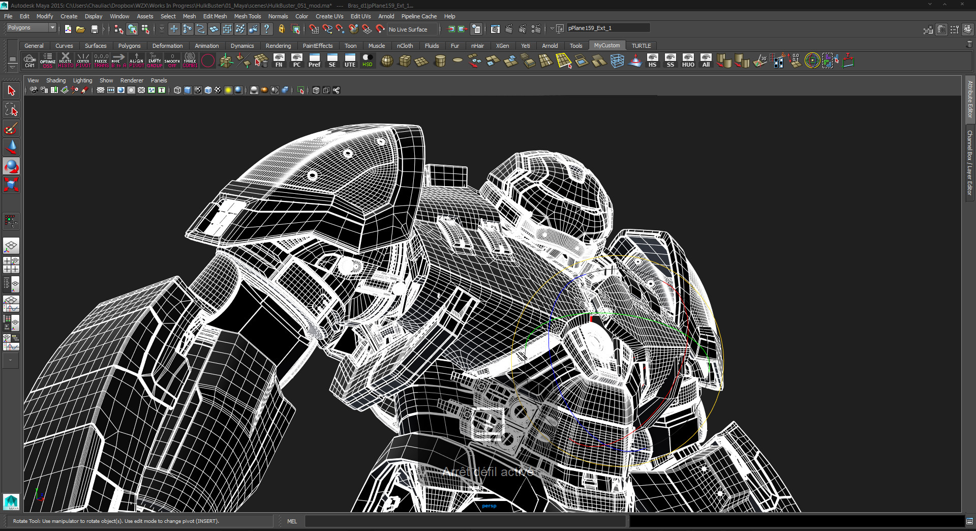 ArtStation - Making the Hulk Buster - Tutorial, - Wizix -