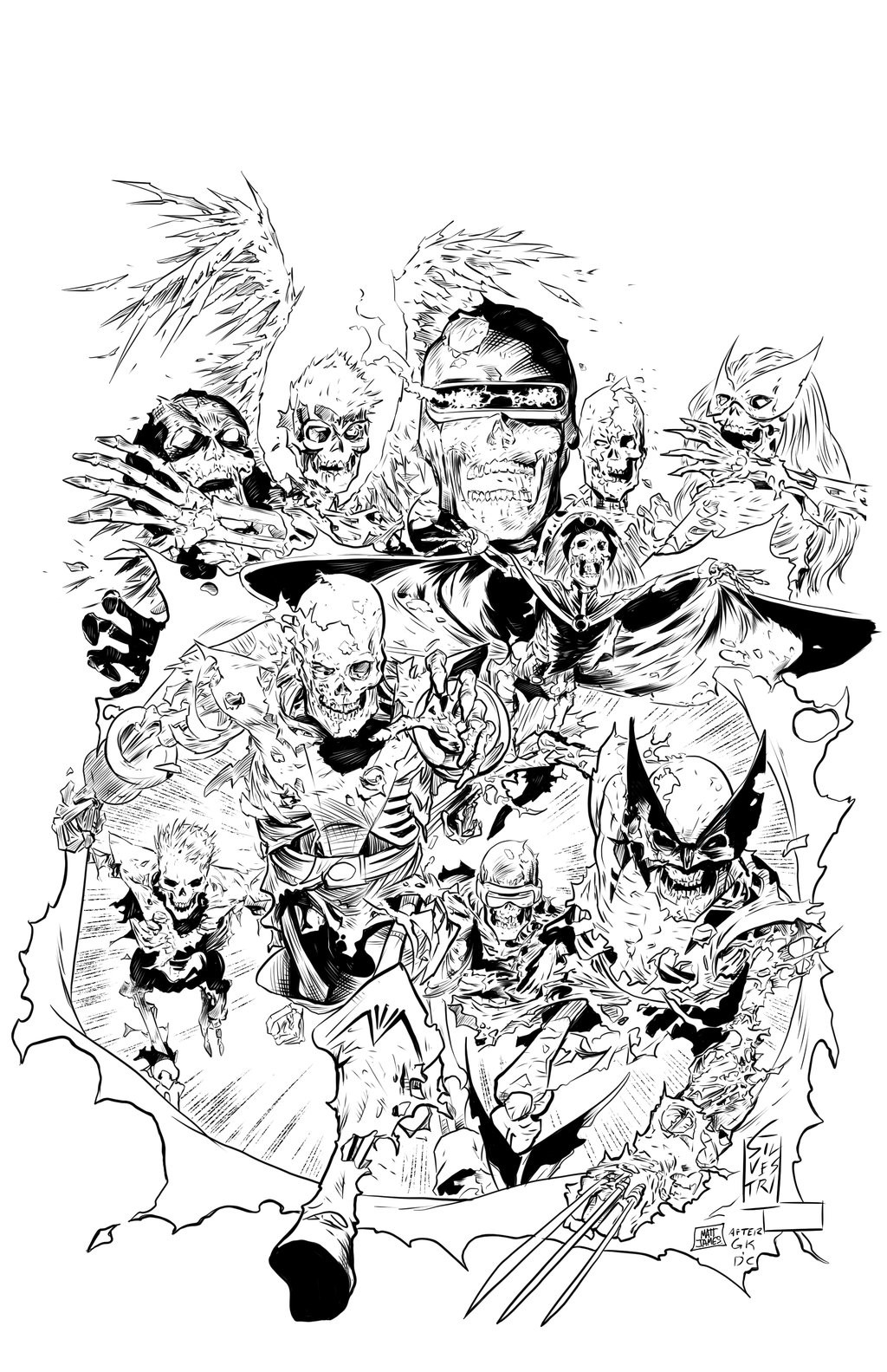 All New All Different Zombie X-Men