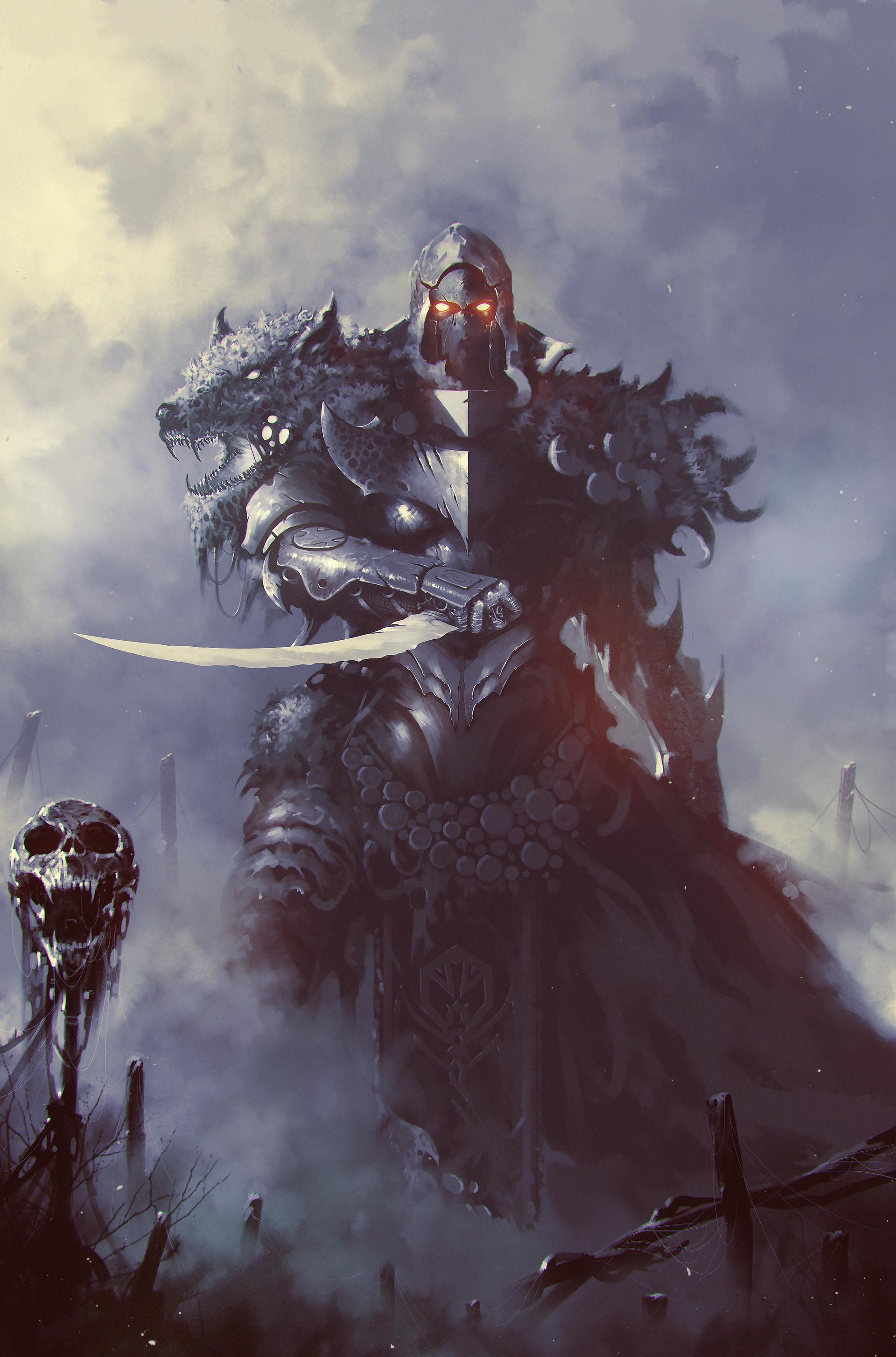 Fantasy Werewolf Concept Art