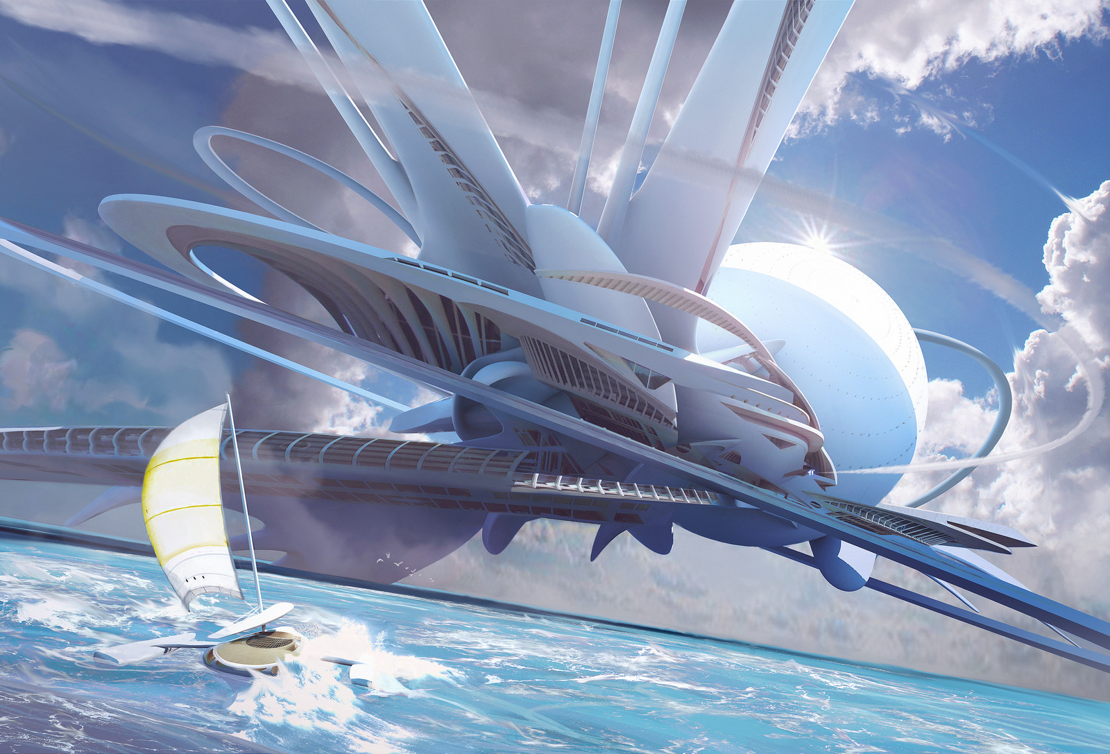 Ocean Outpost - ImagineFX Tutorial