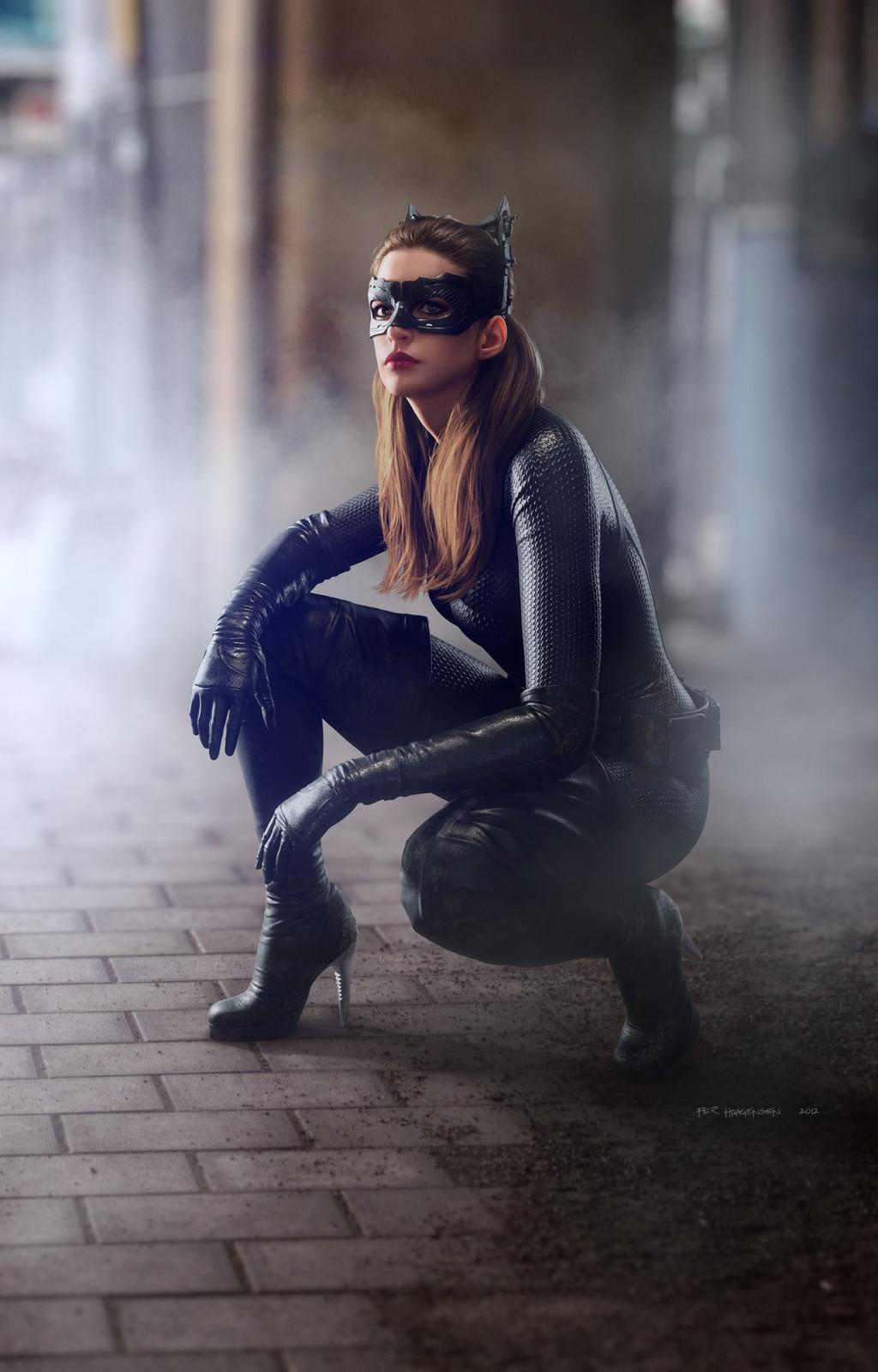"Catwoman #1 - ""The Dark Knight Rises"". Final artwork"