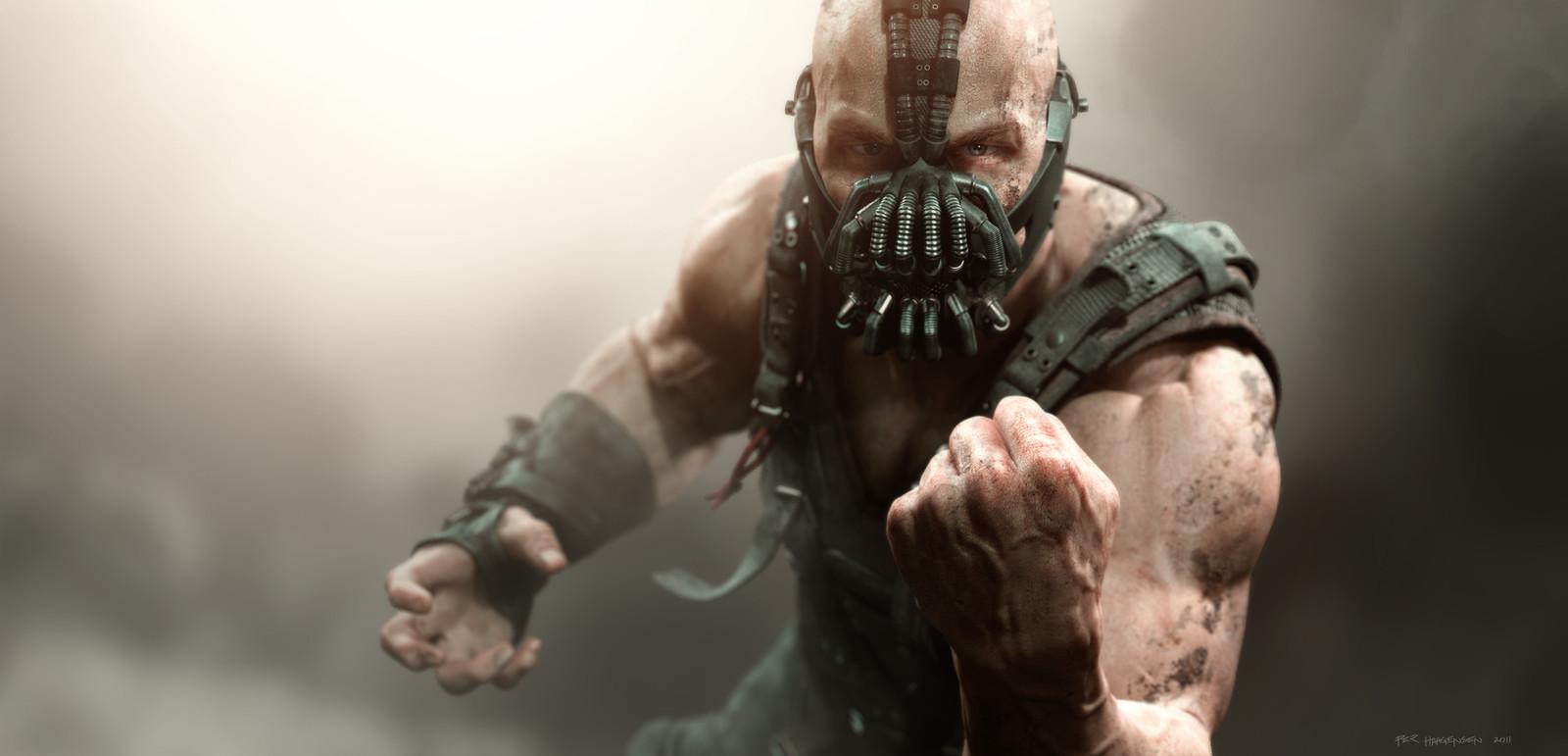 "Bane #1 - ""The Dark Knight Rises"". Final artwork"