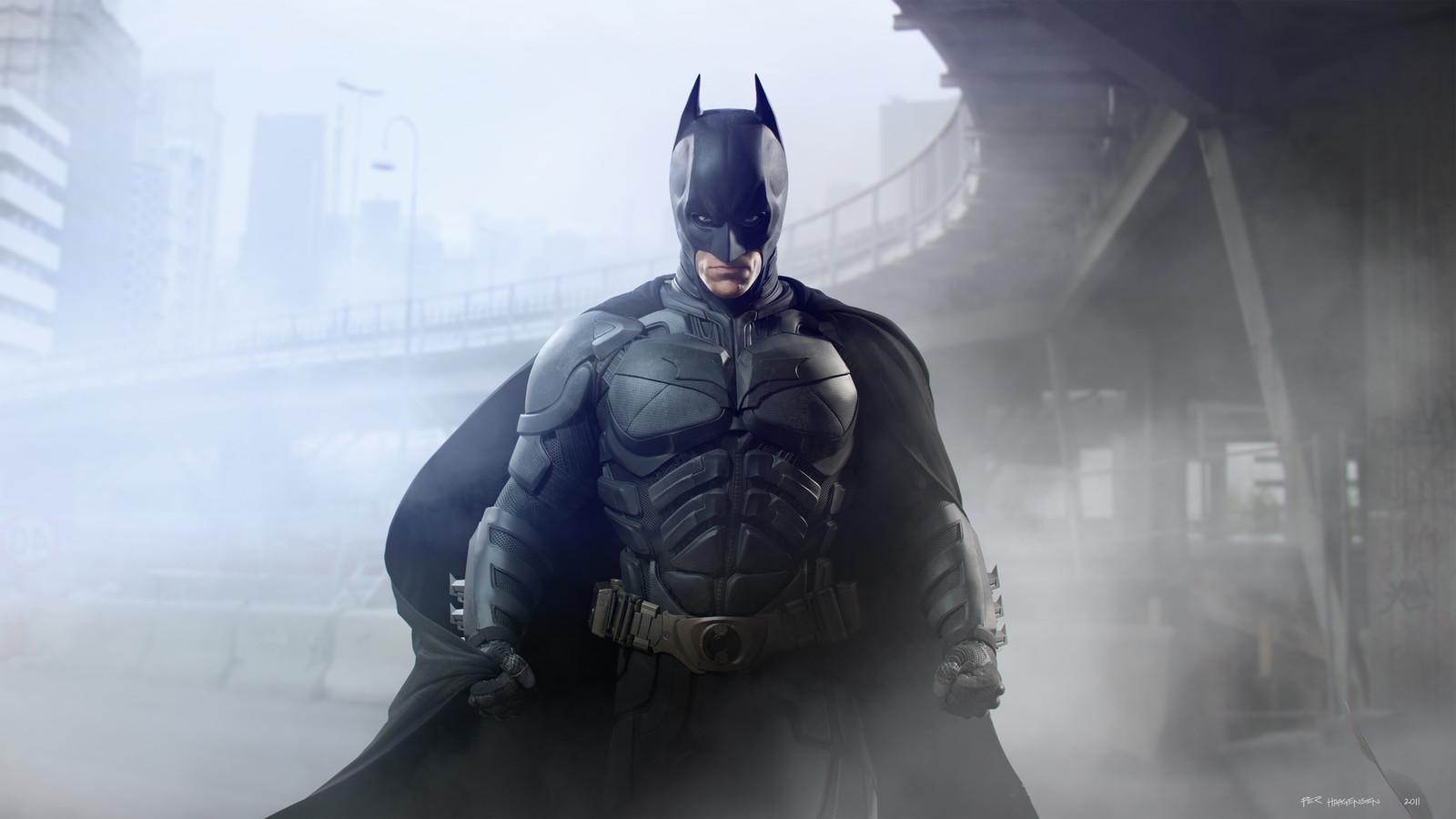 "Batman #2 - ""The Dark Knight Rises"". Final artwork"