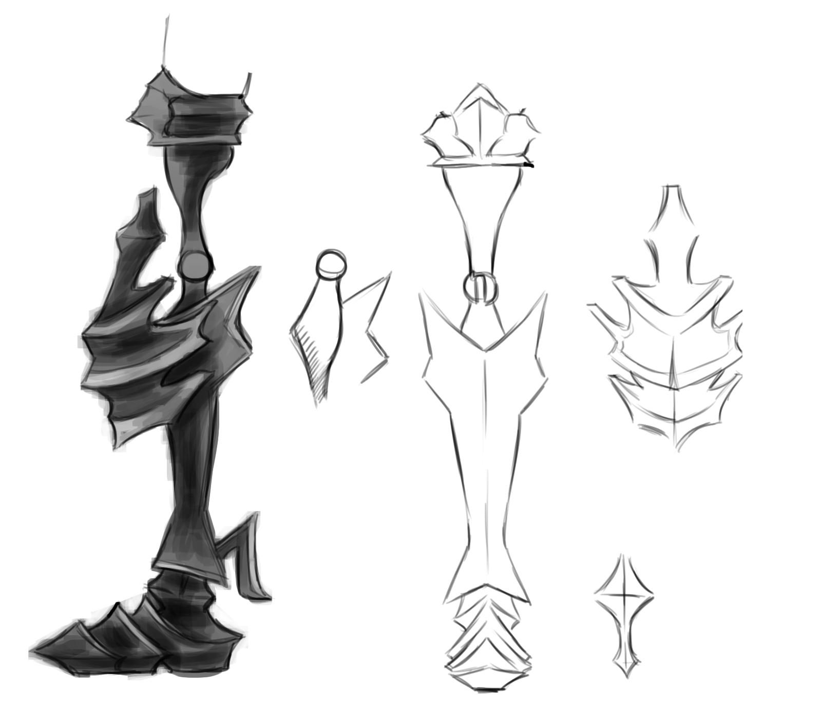 Mech Leg Concept