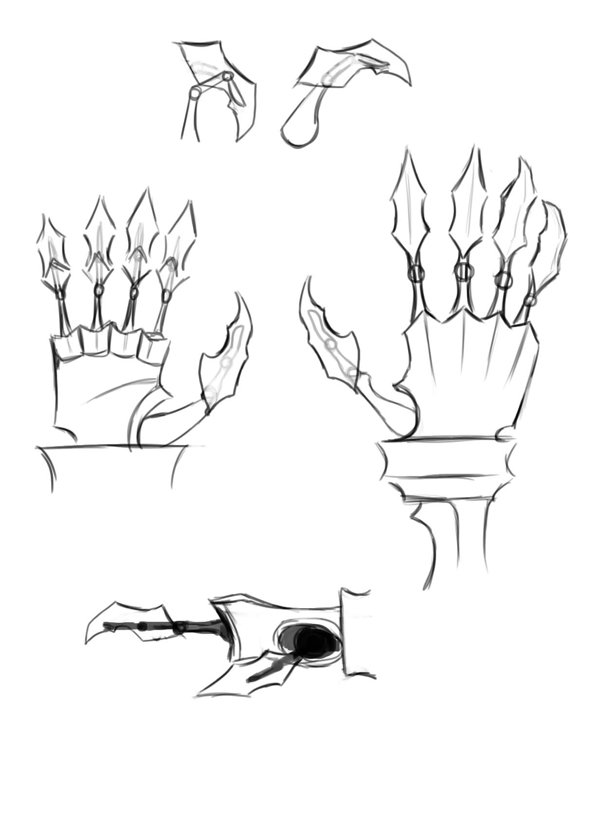 Mech Hand Concept