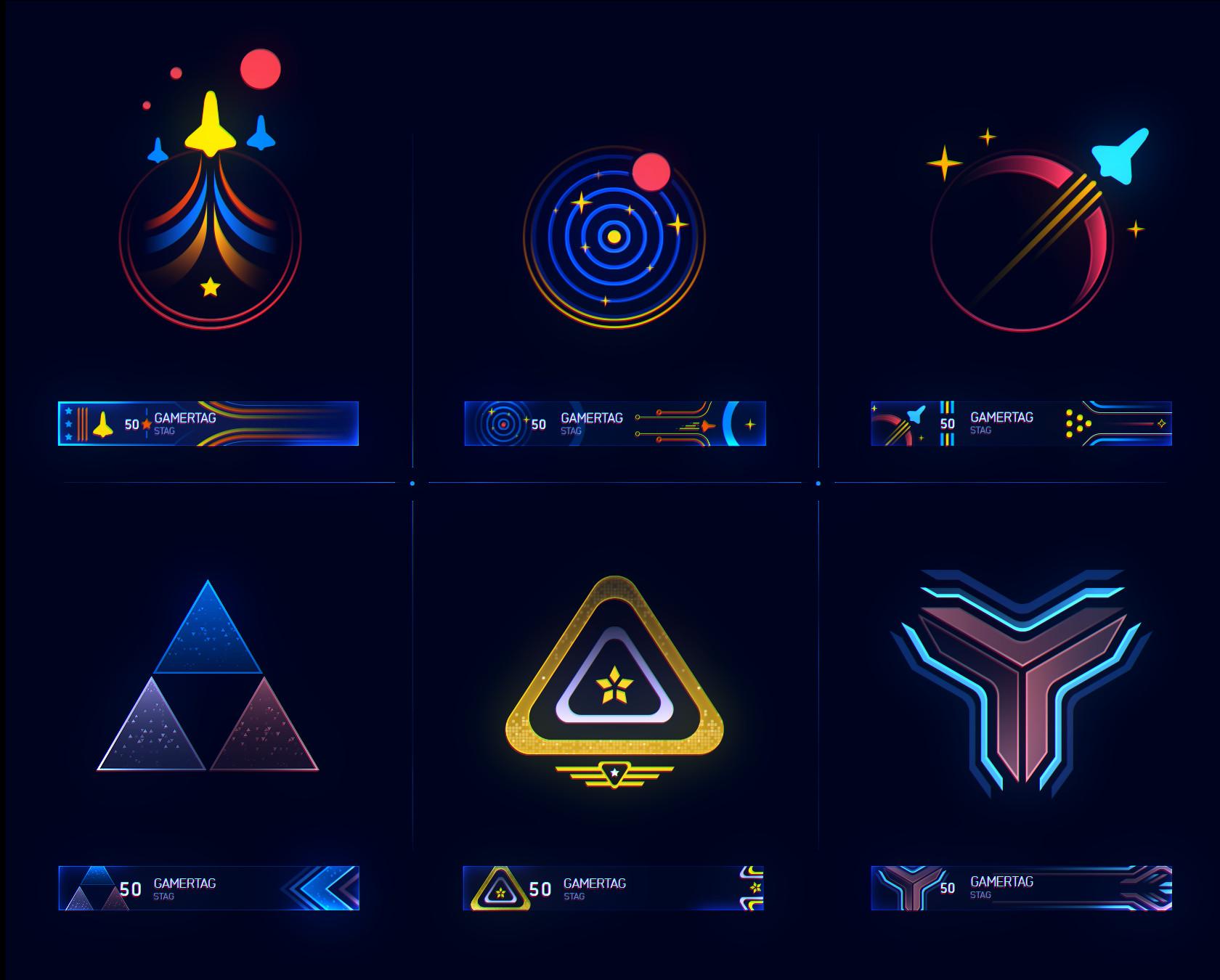 Artstation Halo 5 Emblems Ramiro Galan