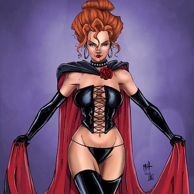 Matt james black queen by mattjamescomicarts d9rokfi