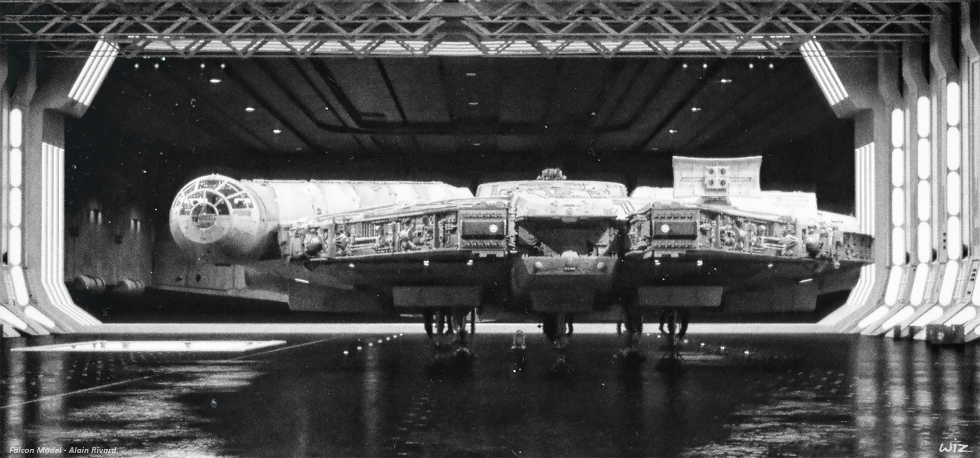 Paul wiz johnson vintage falcon hangar