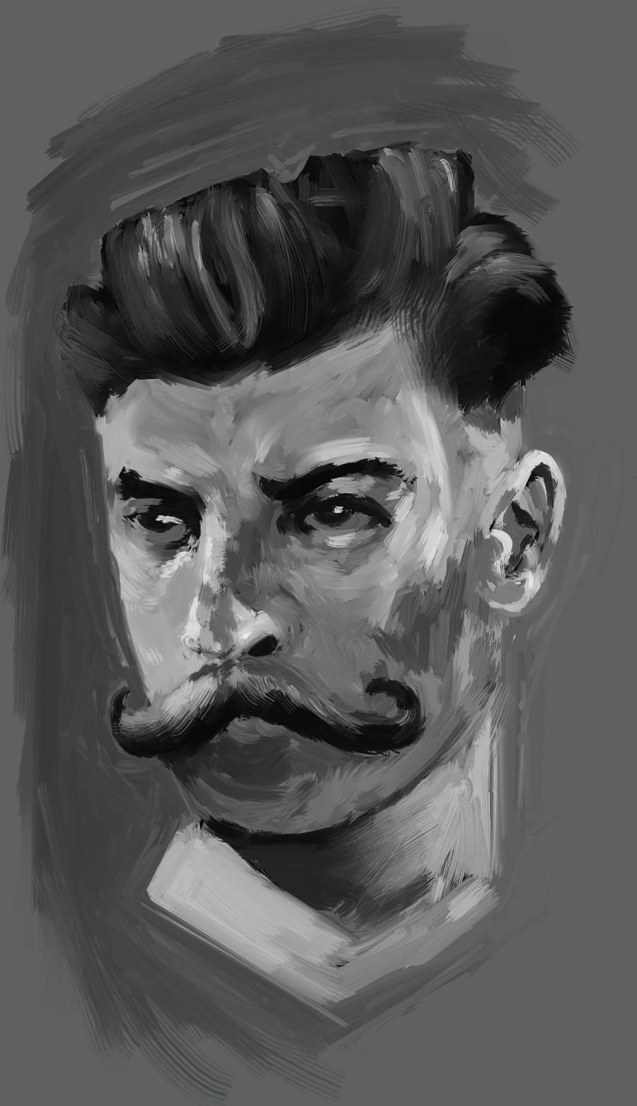 Moe murdock moustache2