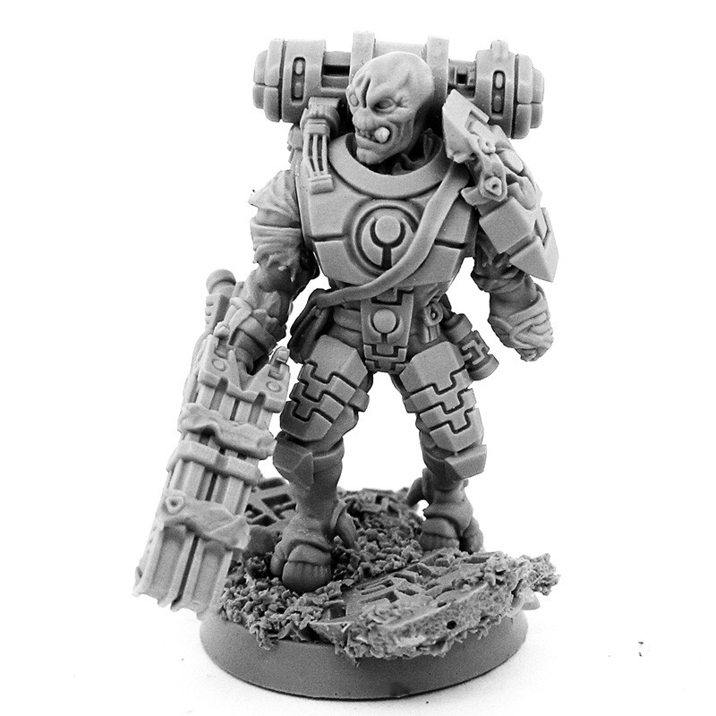 ArtStation - Big Shas 28mm-scale miniature  Resin cast from 3d