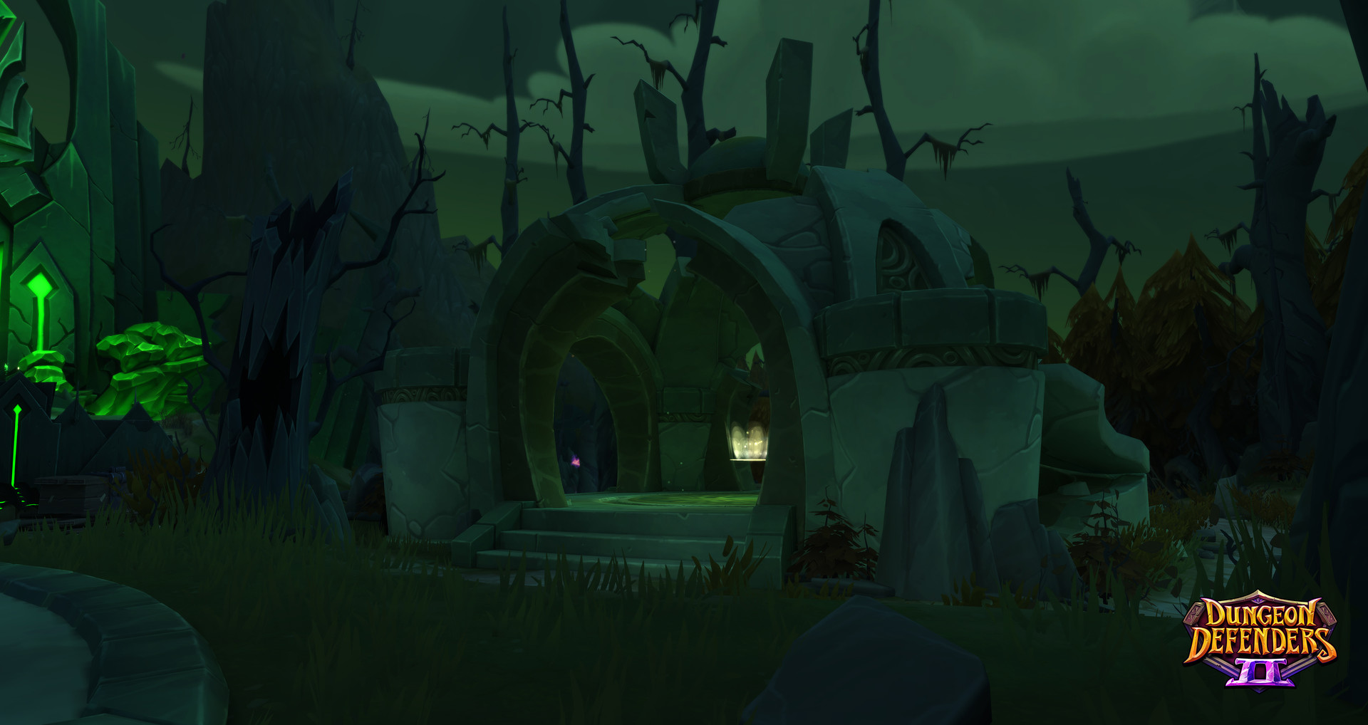 David decoster spooky temple