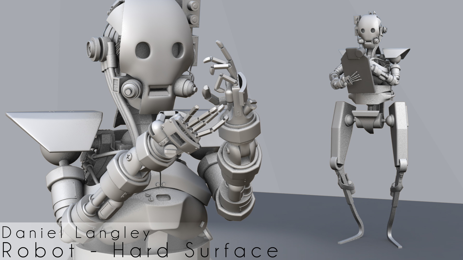 Daniel Langley - Robot - Hard Surface