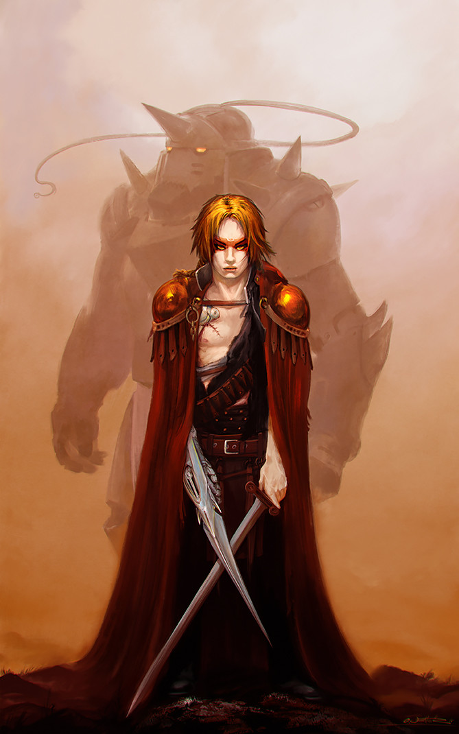 Brom Tribute - Fullmetal Alchemist - Crossing Swords