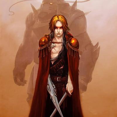 Brom Tribute - Fullmetal Alchemist - Crossing Swords