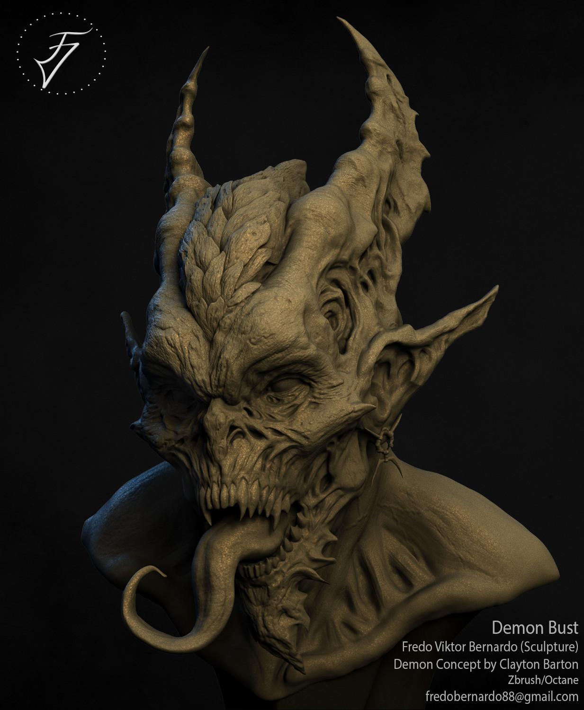 Fredo viktor demon bust 01