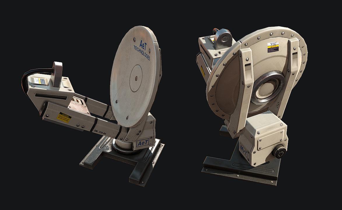 Asset - Xcom Style Antarctic Research Station - Radar Dish