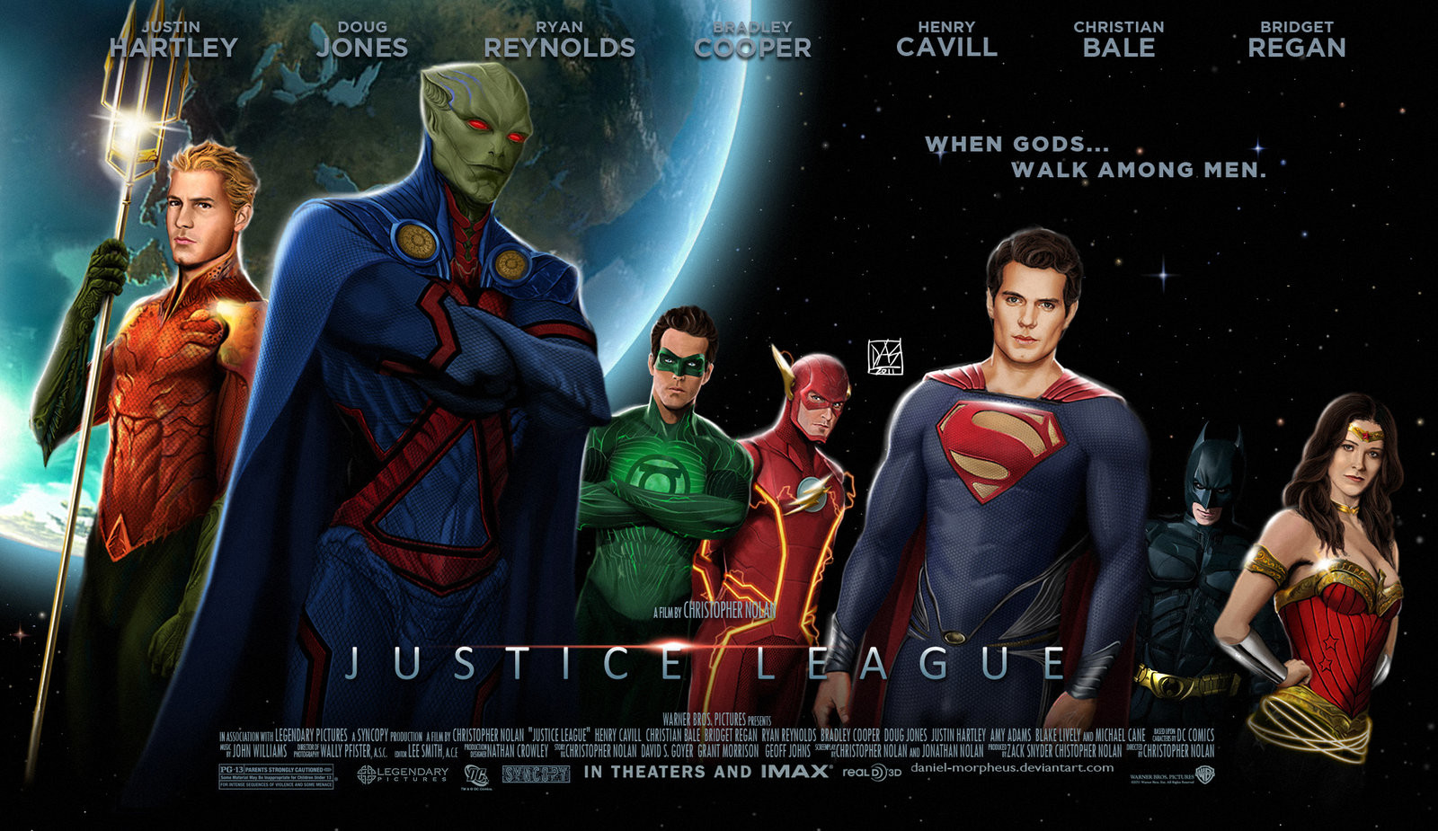Daniel de almeida e silva justice league movie poster by daniel morpheus d4ga8dj
