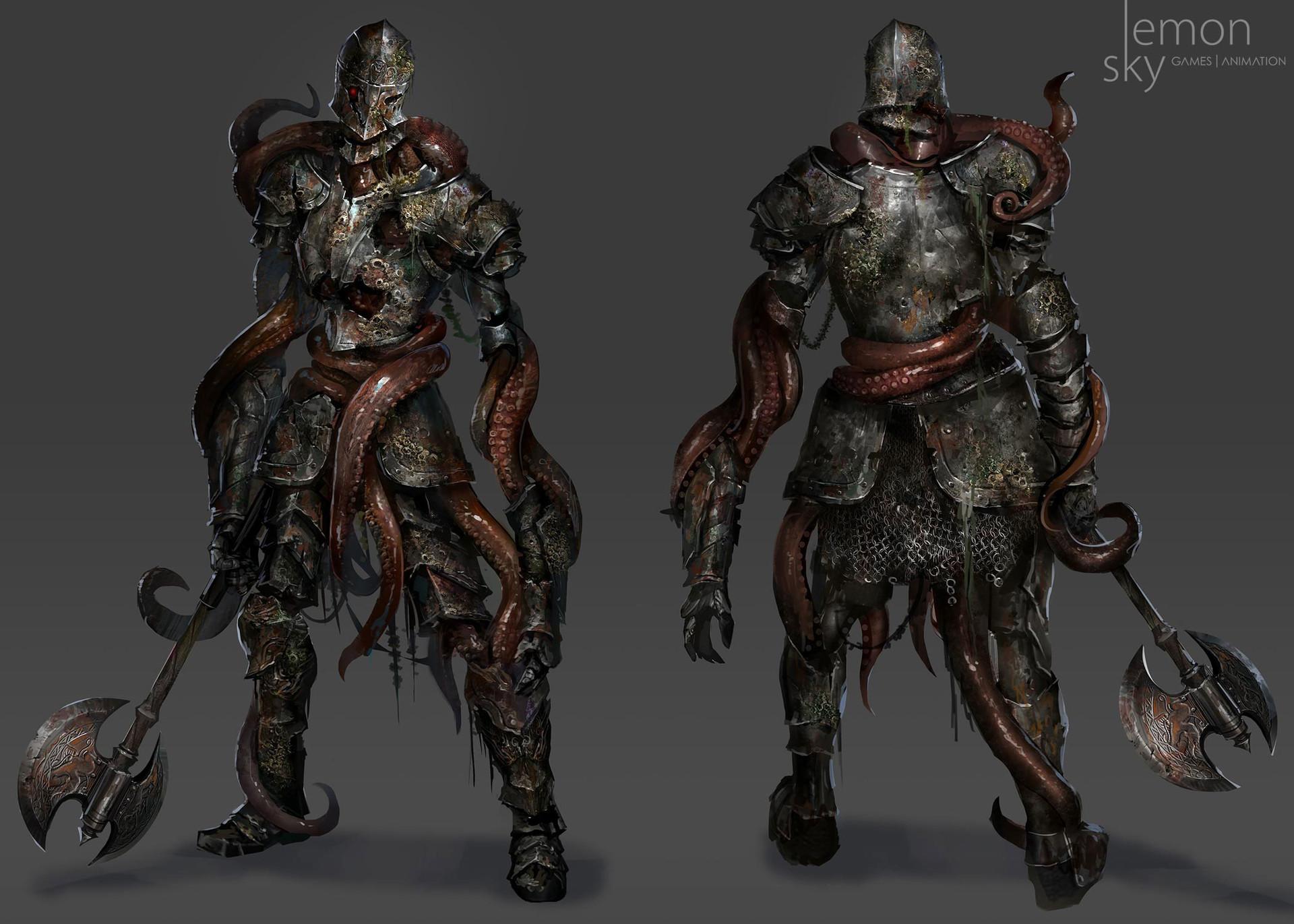 Jeremy chong lemonsky fromsoft darksoul conceptart creature02 b2