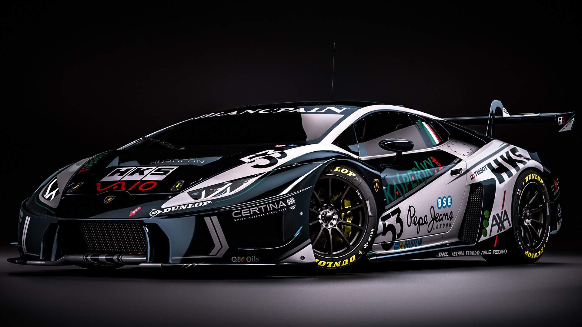 artstation lamborghini huracan gt3 fantasy kaspersky livery zoki nanco nancorocks. Black Bedroom Furniture Sets. Home Design Ideas