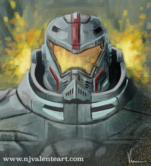 Gypsy Danger speed paint
