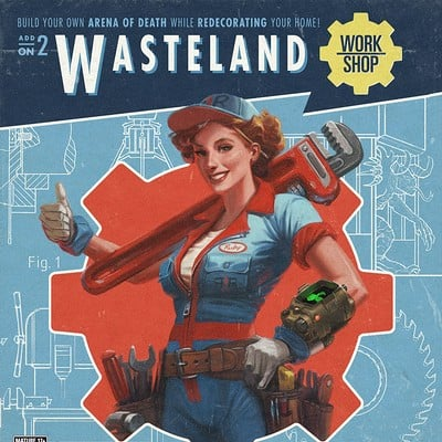 Ray lederer fo4 dlc wasteland workshop