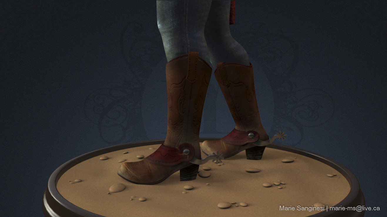 Marie sanginesi cowgirl texturerotation boots 146 copy blue