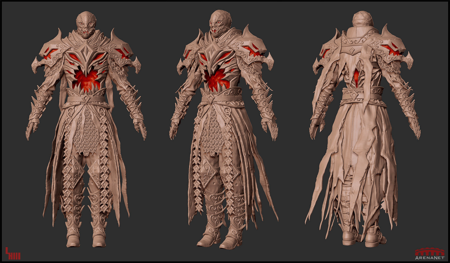Loraine howard iii loraine howard iii lunatic guard zbrush