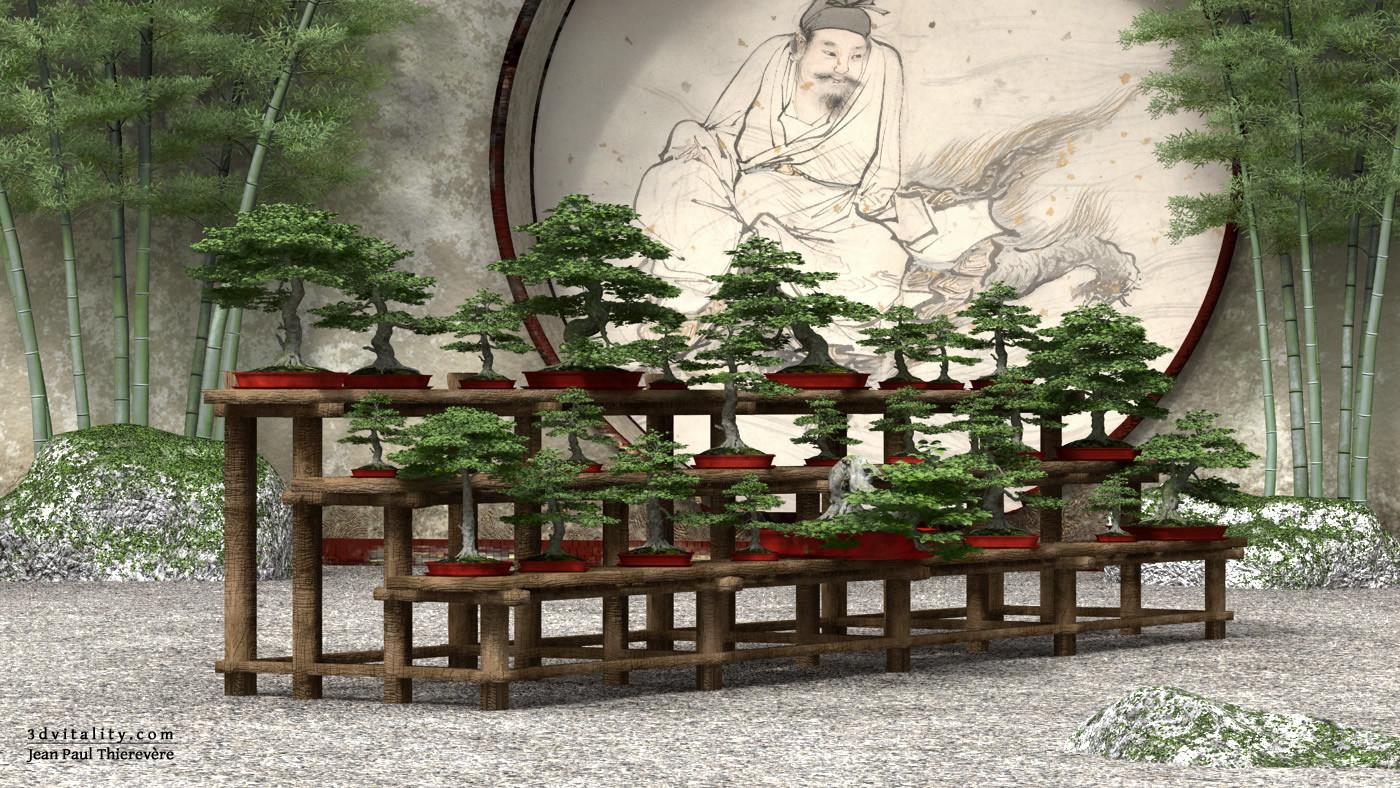 Little Bonsai Garden