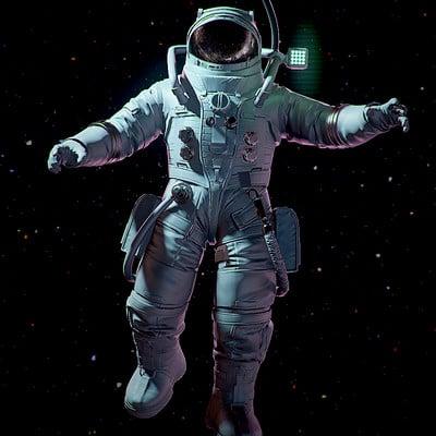Frederik a plucinski astronaut low