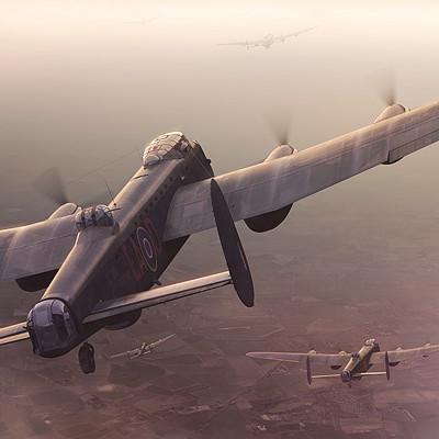 Piotr forkasiewicz aviation illustration lastsunset