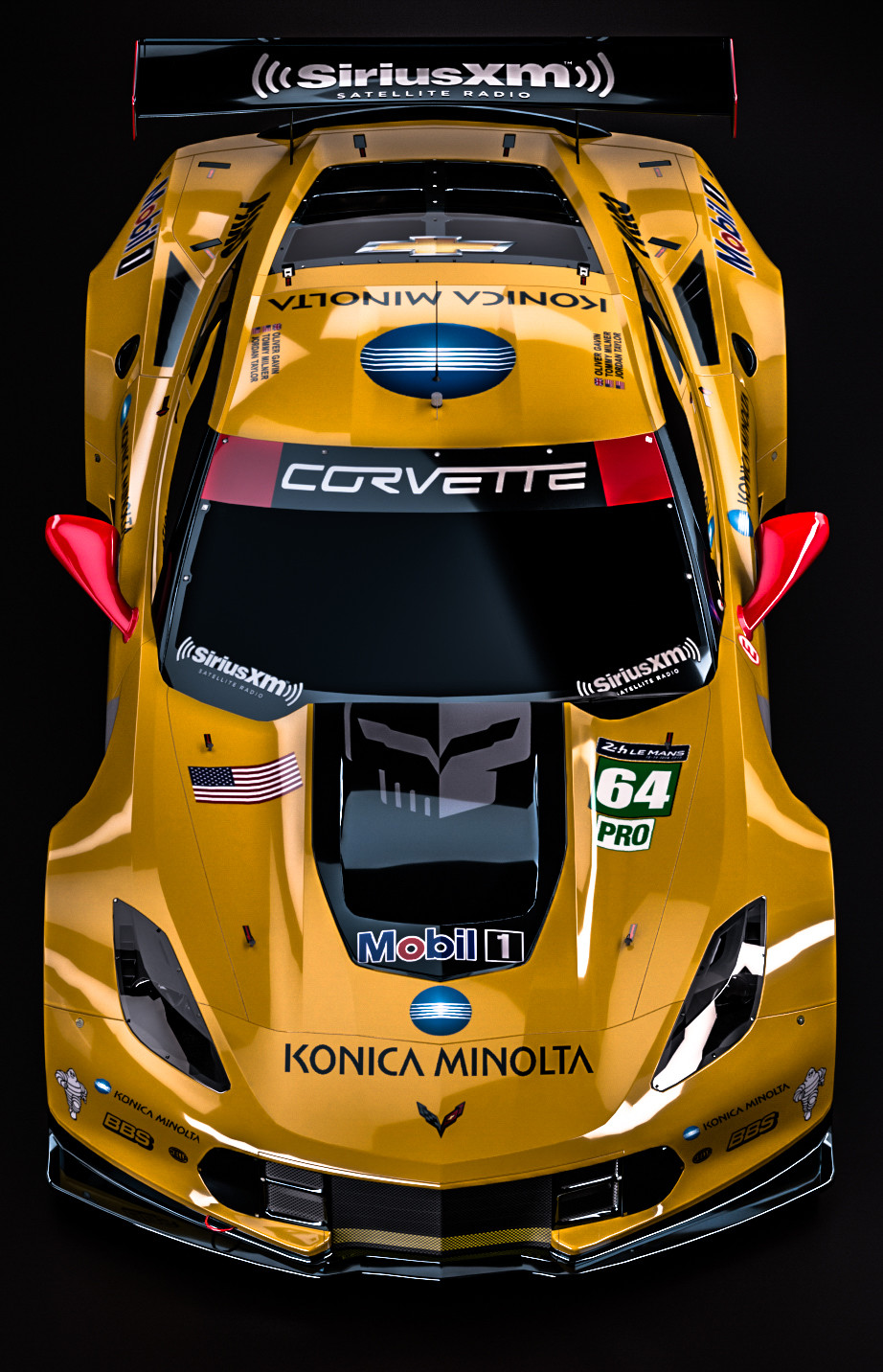 ArtStation - Chevrolet Corvette C7.R - Winner GTE Pro 2015 ...