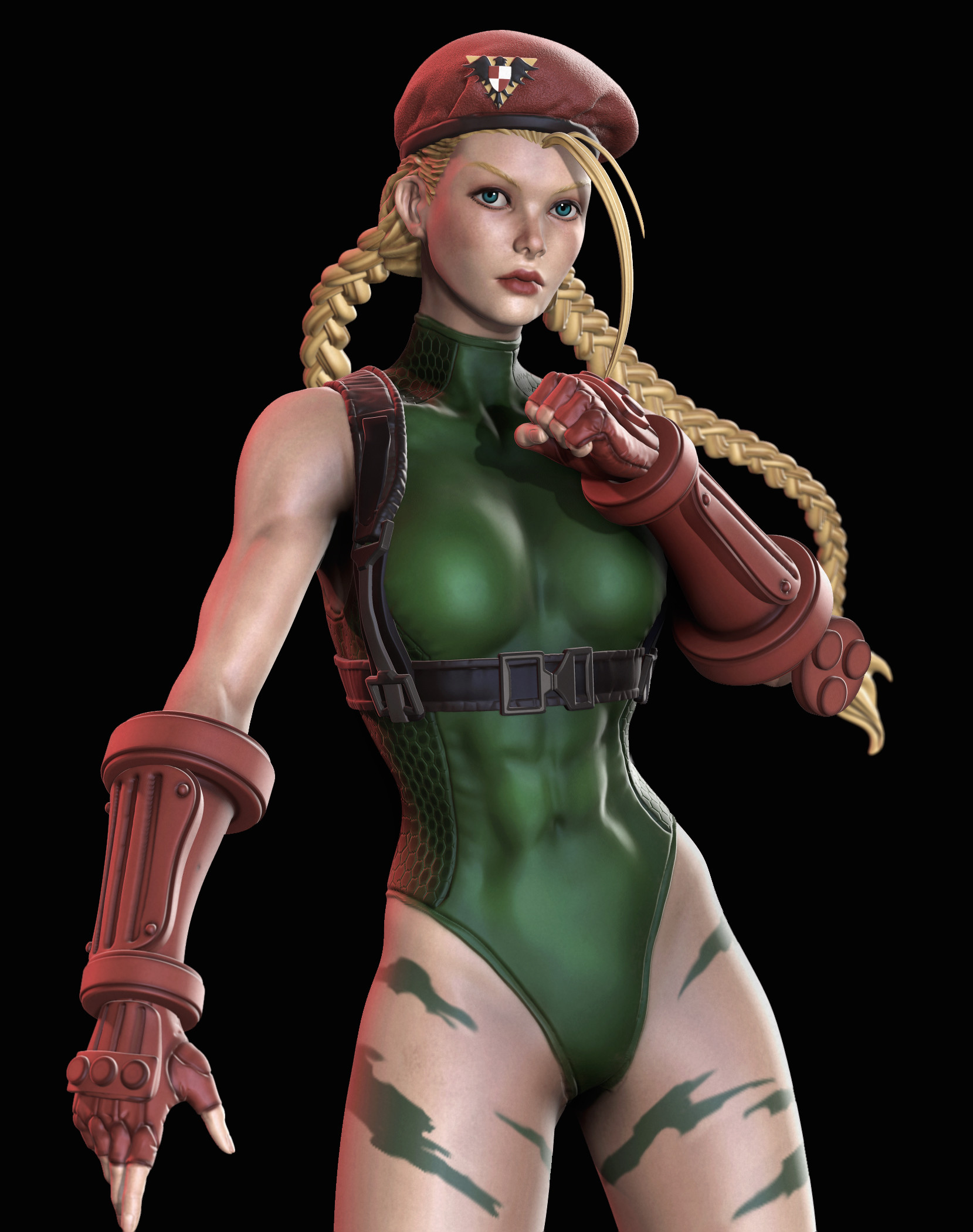 3d street fighter cammy 6