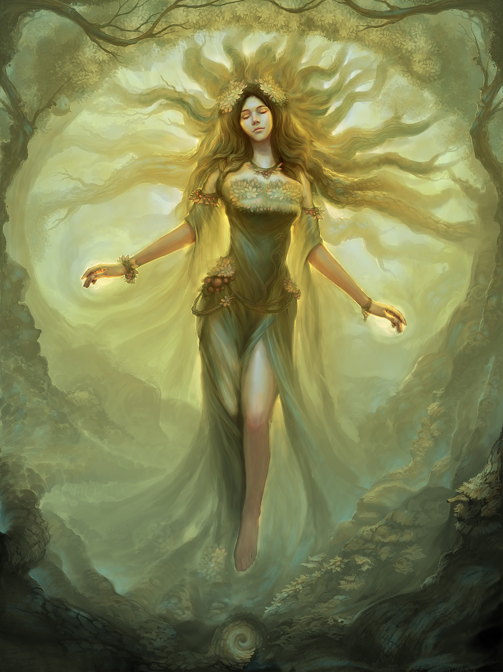 ArtStation - Mother Nature, ChunYu Lin