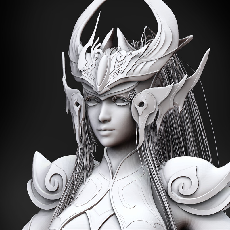 Syndra Clay and Wire render