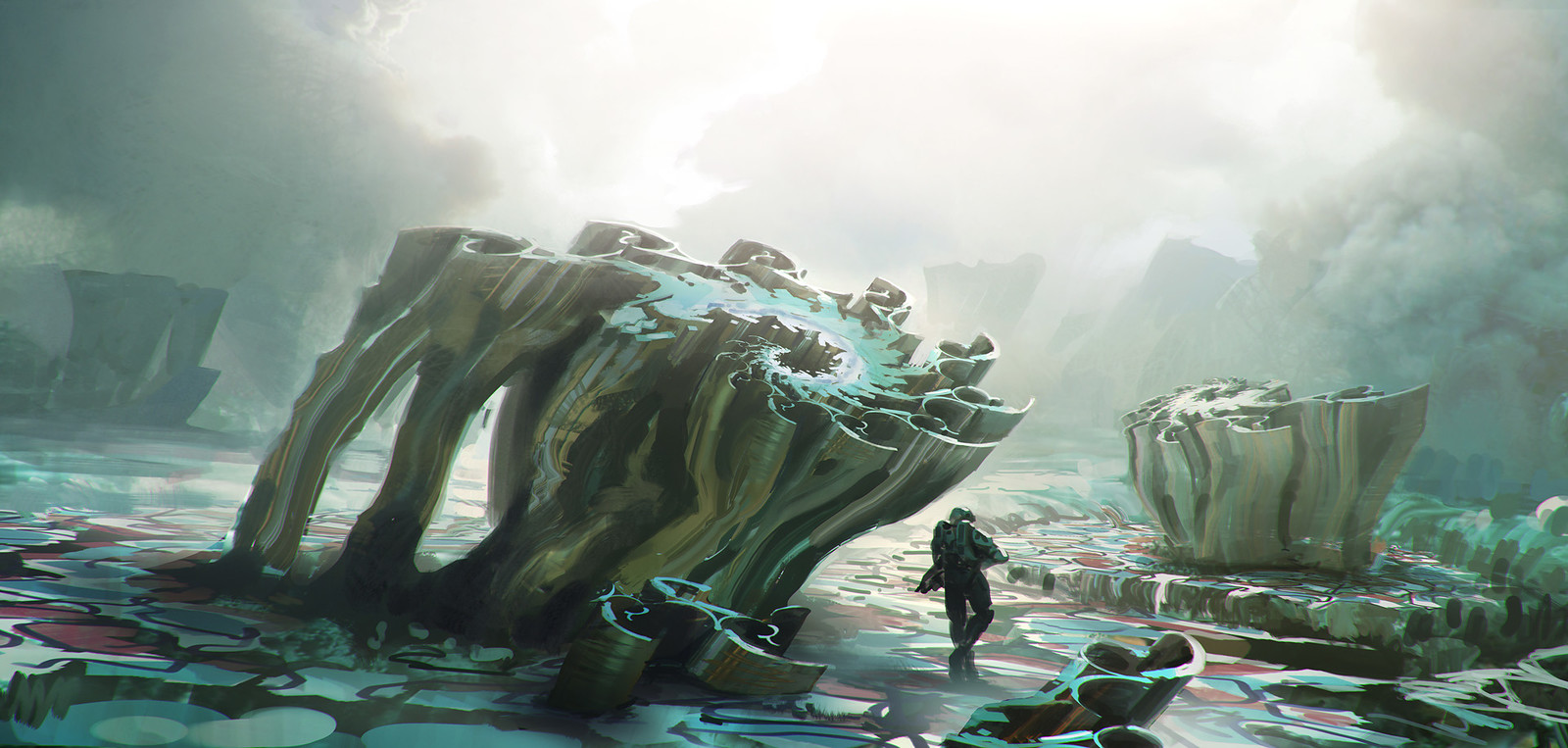 Fractal Plant, Halo 5